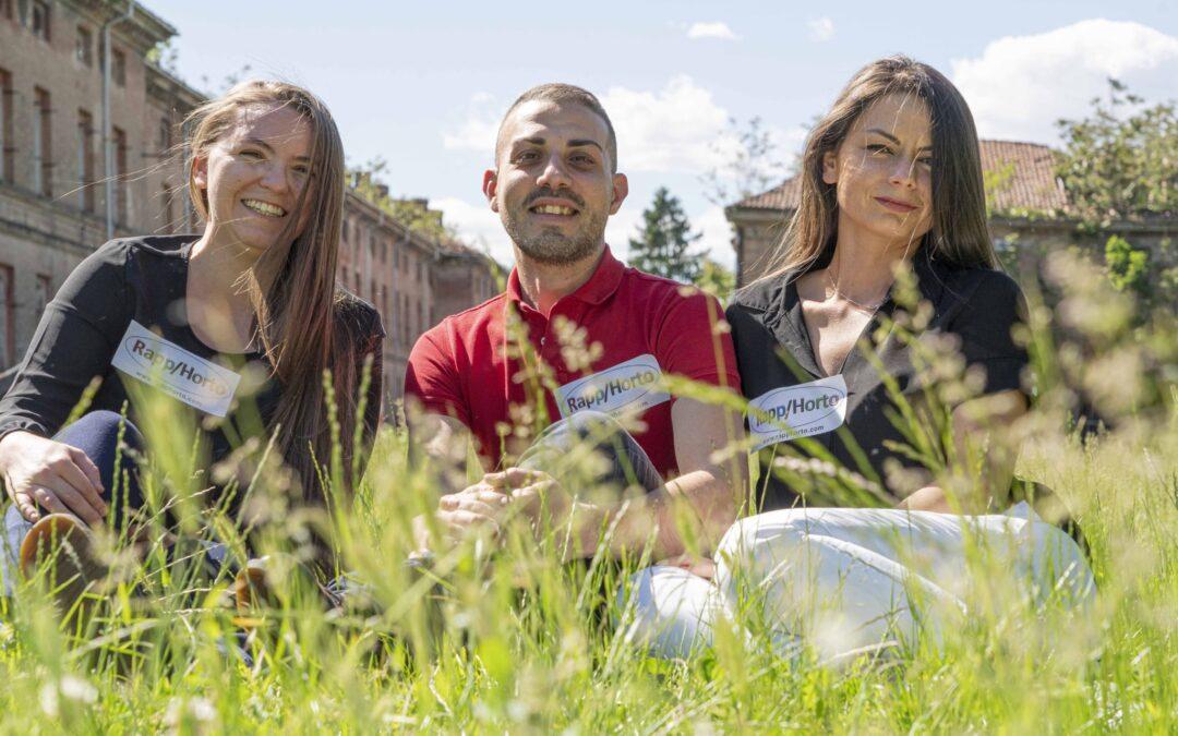 Team di Rapp/horto, vincitori della CBC Italia 2021